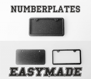 EASY88MADE Number plates