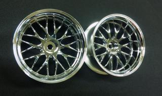 DW-625CS  GNOSIS HS202 wheel offset5 chrome silver
