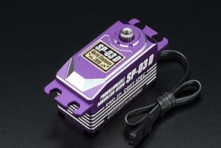 Yokomo SP-03DP Purple Low Profile Programmable (RWD Drift Spec/16.0kg/6.0V)