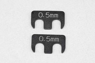 Y2-008RA5 Aluminum adjust shim (0.5mm/2pcs) for YD-2/YD-4