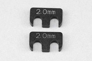Y2-008RA7 Aluminum adjust shim (2.0mm/2pcs) for YD-2/YD-4