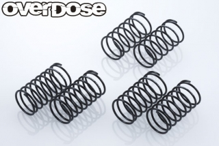 OD2506 High Performance Shock Springφ1.1mm Set(φ1.1/3 type of each/2pcs)