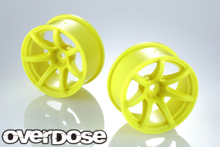 OVERDOSE OD2722 R-SPEC WORK EMOTION T7R (Flo Yellow / OFF+7)