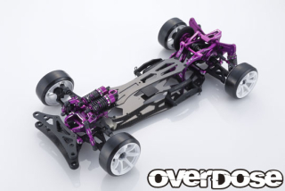 OVERDOSE GALM ver.2 Chassis Kit 10th Anniversary Limited Edition (Purple)