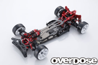 OVERDOSE GALM ver.2 Chassis Kit 10th Anniversary Limited Edition (Red)