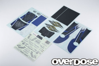 OVERDOSE OD2763 WELD Hyakushiki Rokugouki Graphic Decal Set