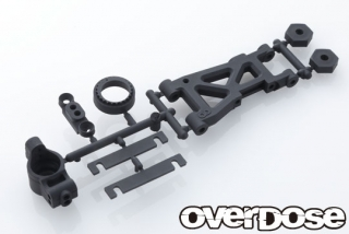 OVERDOSE OD2746  Rear Suspension Arm & Upright Set (For GALM ver.2)