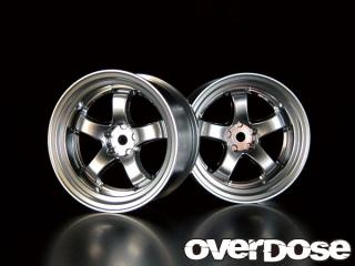OVERDOSE OD1079 WORK MEISTER S1R (Matt Chrome/OFF+5)