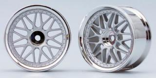 TW-1313MS  Ten mesh wheel (Matte Silver)