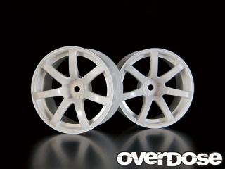 OVERDOSE OD1187 WORK EMOTION XT7 (White/OFF+5)