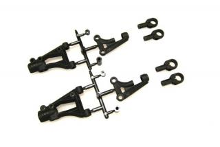 OVERDOSE OD1618 A-Arm Set (Upper, Lower, King Pin Ball End) for Vacula