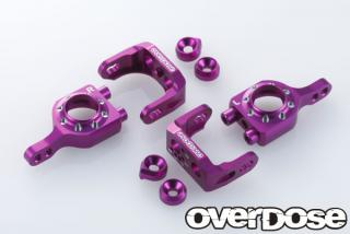 OVERDOSE OD1565 Adjustable Aluminium Upright Set (For Vacura A-Arm) PURPLE