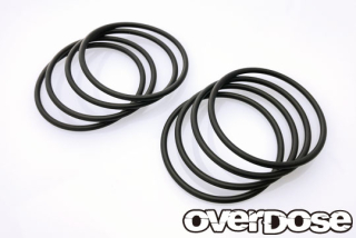 OVERDOSE OD2796 Tire Stabilized O-Ring (Black/8pcs)
